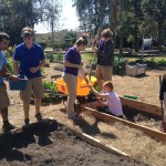 Class C finishes the Chicken Compost Bed and sets-up the florikan bed